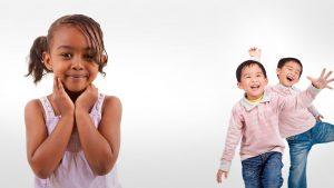 Young Happy Children